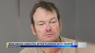 Trucker arrested in deadly crash