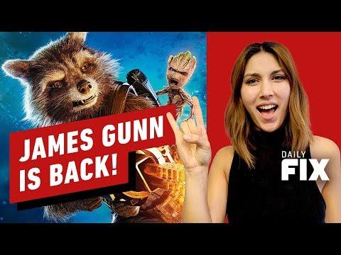 James Gunn's Back & Directing Guardians of the Galaxy Vol. 3 - IGN Daily Fix - UCKy1dAqELo0zrOtPkf0eTMw