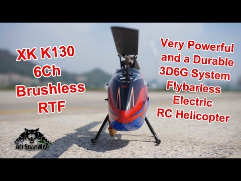 XK K130 Brushless Flybarless RC Helicopter Crash and Inverted landing - UCsFctXdFnbeoKpLefdEloEQ