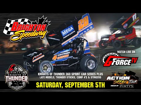 09/05/2021 | Brighton Speedway | Pinty's Knights of Thunder - dirt track racing video image