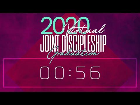2020 virtual Joint Discipleship Graduation!