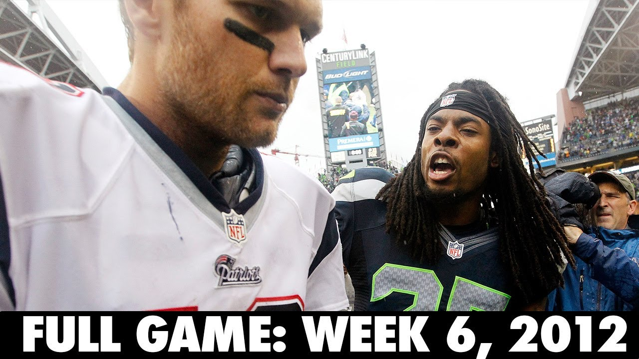 The Game that made Legion of Boom Famous Week 6, 2012 FULL GAME