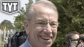 Woman Destroys Chuck Grassley At Town Hall