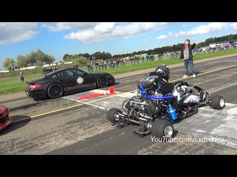 230HP Super Kart vs. 1300HP Porsche 9ff vs. 1088HP AUDI S4 - UCPn7qqWTNONsx1YdvcFgmNw