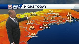 Humidity fades as sunshine returns