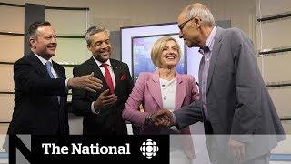 Alberta candidates face off in televised leadership debate