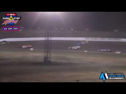 I-94 Sure Step Speedway WISSOTA Super Stock A-Main (7/16/21) - dirt track racing video image