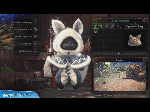 Monster Hunter World - All Palico Gadget Locations Guide - default