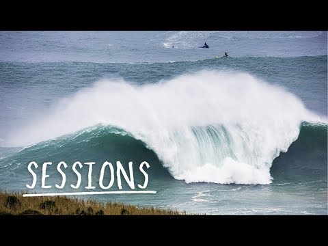 Relive the greatest waves Nazaré has to offer. | Sessions - UCblfuW_4rakIf2h6aqANefA