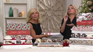 Landies Candies 22-Pc Winter Wonderland Pretzel Collection on QVC