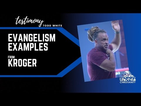 Todd White - Evangelism Examples from Kroger