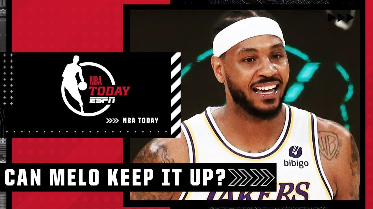 Carmelo Anthony was ON FIRE vs. Memphis – How long can he keep it up? | NBA Today