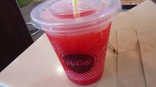McDonald's Minute Maid Fruit Punch Slushie