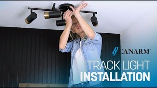 Video: How to Install Track Lighting | Canarm