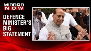 Rajnath Singh tweets on nuclear doctrine, makes an open ended statement on 'future'