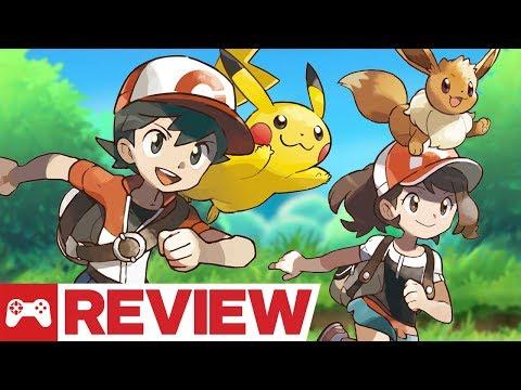 Pokemon: Let's Go, Pikachu and Eevee Review - UCKy1dAqELo0zrOtPkf0eTMw