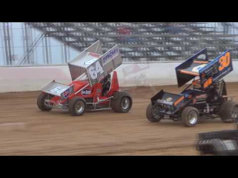 Trail-Way Speedway 358 Sprint Car Highlights 05-20-16 - dirt track racing video image