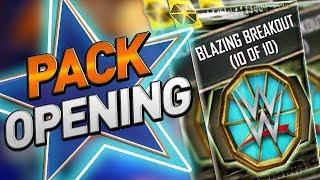 WWE SUPERCARD PACK OPENING! BLAZING BREAKOUT PACKS! WWE SUERCARD SEASON 5