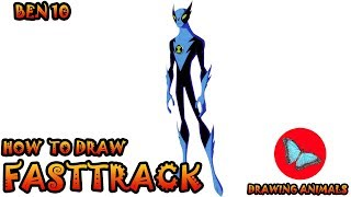 How To Draw Fasttrack From Ben 10 | Drawing Animals