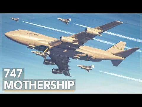 The Air Force's Crazy 747 Aircraft Carrier Concept - UC1ZBQ-F-yktYD4m5AzM6pww