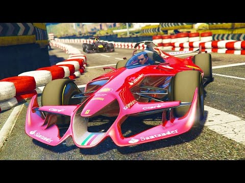 GTA 5 PC Mods - FORMULA 1 CARS RACING MOD! GTA 5 F1 CAR AND RACES Mod Gameplay! (GTA 5 Mod Gameplay) - UC2wKfjlioOCLP4xQMOWNcgg