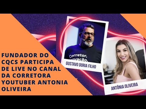 Imagem post: Fundador do CQCS participa de live no canal da youtuber Antonia Oliveira