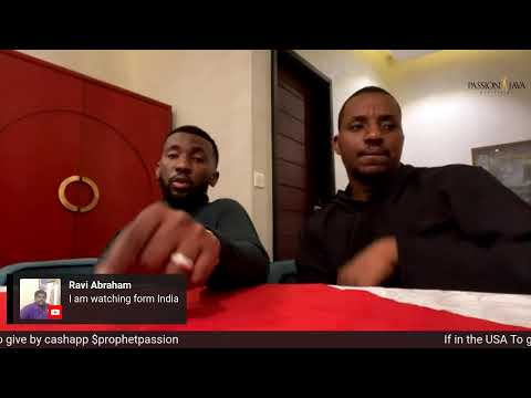 Prophetic Freestyle-LIVE! with Prophet Passion and Bishop Joshua