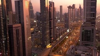 Metropolitan City Center in Busy Business Finance District | Stock Footage - Videohive