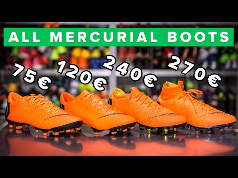 quality design 2df7b 4fa3a CHEAP vs EXPENSIVE  All Nike Mercurial boots explained Elite, Pro or  Academy