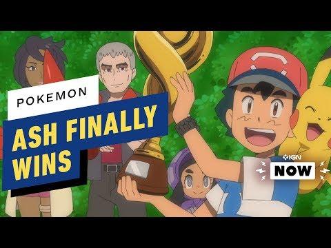 Ash Ketchum Becomes a Pokemon League Champion - IGN Now - UCKy1dAqELo0zrOtPkf0eTMw