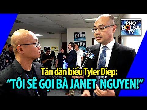 Tân dân biểu gốc Việt Tyler Diep: