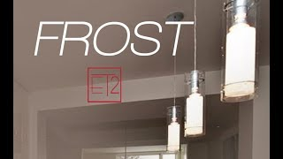 ET2 Contemporary Lighting Frost Collection