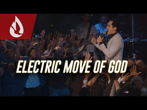 Electric Moment! Power of the Holy Spirit Moves  David Diga Hernandez