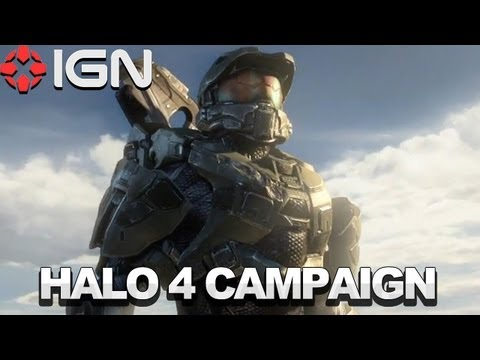 Halo 4 Single-Player Campaign Footage - E3 2012 - Microsoft Xbox 360 - UCKy1dAqELo0zrOtPkf0eTMw