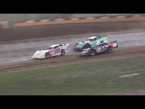 USRA Late Model Feature - Cedar Lake Speedway 08/21/2021 - dirt track racing video image