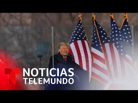 En video: El momento en que Trump pidió a sus seguidores