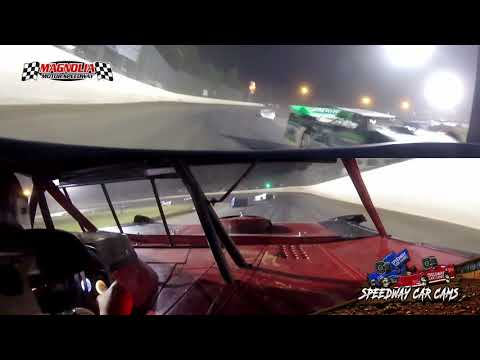3rd #87 Tody Ratcliff - 602 Sportman Late Model - A-Main Feature - Magnolia Motor Speedway 5-29-21 - dirt track racing video image