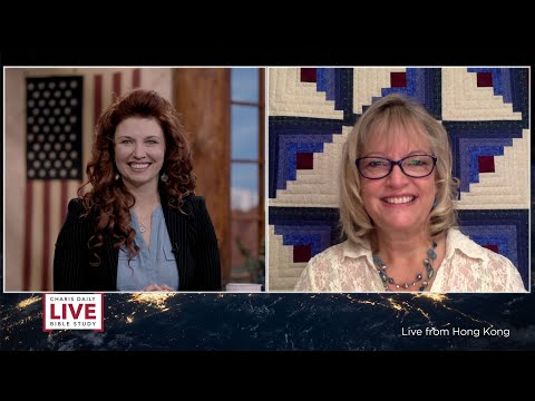 Charis Daily Live Bible Study: Peace in the Big Decisions - Cindy Pearson - April 22, 2021