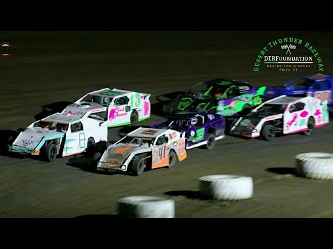 Desert Thunder Raceway 305 Modified Main Event 7/23/21 - dirt track racing video image