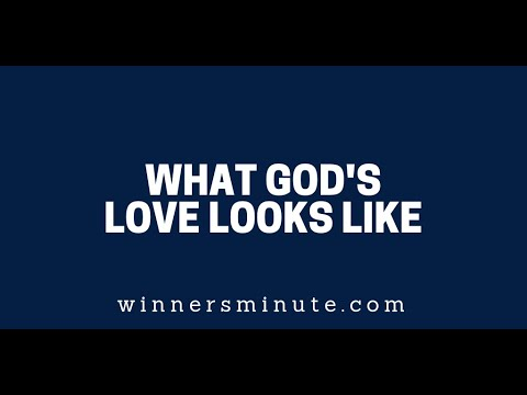 What Gods Love Looks Like  The Winner's Minute With Mac Hammond