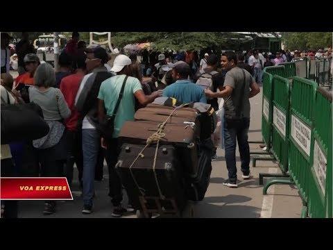 Truyền hình VOA 8/2/19: Venezuela phong tỏa cửa khẩu, chặn hàng viện trợ Mỹ