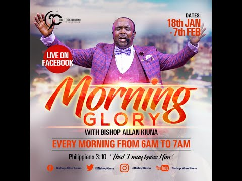 Morning Glory Day 16 - Bishop Allan Kiuna