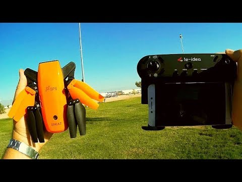Le Idea Idea7 GPS Follow Circle Me FPV Drone Flight Test Review - UC90A4JdsSoFm1Okfu0DHTuQ