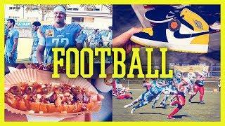 Crazy Hot Dogs, Sneakers und Football in Graz - Styrian Bears vs St. Pölten Invaders | Vlog