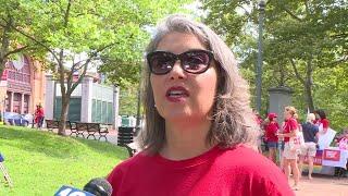 VIDEO NOW Moms Demand Action rallies against gun violence