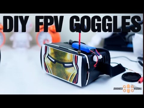 DIY FPV Goggles 5.8Ghz 5 Inches Screen Affordable and Easy FPV - UC2nJRZhwJ1XHmhiSUK3HqKA