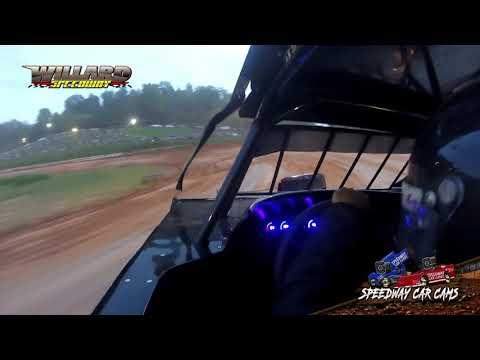 Winner #J3 Jody Puckett - Open Mod - 8-7-21 Willard Speedway - In-Car Camera - dirt track racing video image