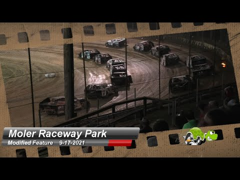 Moler Raceway Park - Modified Feature - 9/17/2021 - dirt track racing video image