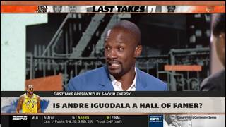 First Take | Is Andre Iguodala a Hall of Famer? | Max Kellerman EXPLAINS