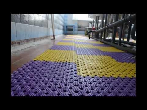 Aqua напольное модульное ПВХ покрытие, размер модуля 340х340х9мм, для влажных зон